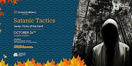 Critical Issues Seminar: Satanic Tactics: Seven Tricks of the Devil tickets