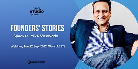 Founders' Stories: Mike Vasavada tickets