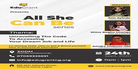Unraveling The Code To Accessing Your Dream Job and Life tickets