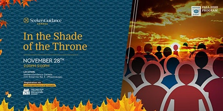 Critical Issues Seminar: In The Shade of the Throne tickets
