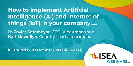 How to implement Artificial Intelligence  and IoT in your company tickets