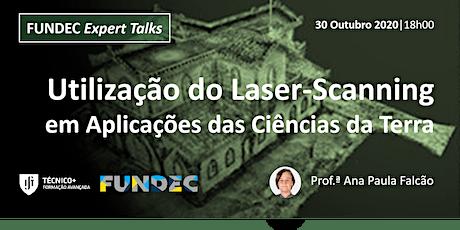 Utilização do Laser-Scanning em Aplicações das Ciências da Terra bilhetes