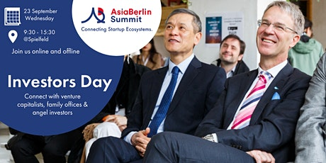 AsiaBerlin Summit: Investors Day, September 23 tickets