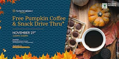 Free Pumpkin Coffee & Snack Drive Thru* tickets