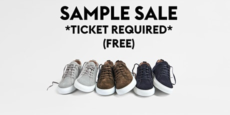 CQP Fall Sample Sale tickets