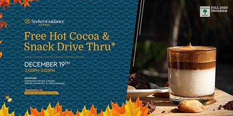 Free Hot Cocoa & Snack Drive Thru* tickets