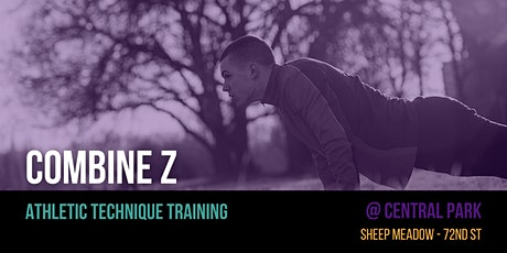 Combine Z - Athletic Fitness Classes @ CENTRAL PARK tickets