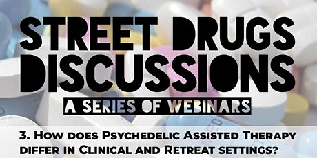 Street Drugs Discussions: Deep Dive on Therapy tickets