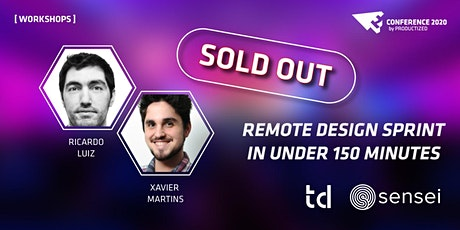 Remote Design Sprint in under 150 minutes Online Workshop tickets
