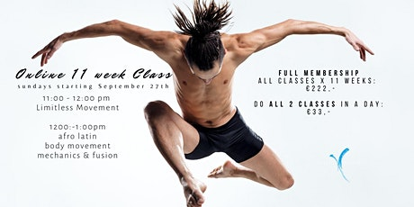 Online 11 Week Class with Limitless Movement tickets