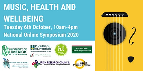Music, Health and Wellbeing Online Symposium tickets