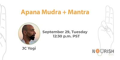 Rudra Mudra + Mantra