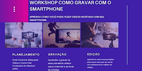 Workshop Presencial Como Criar Vídeos ingressos