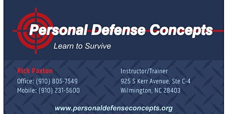 NC Concealed Carry Class tickets