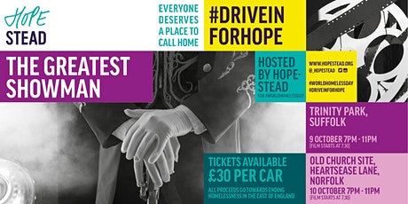 Drive in for Hope: Charity cinema event in Suffolk tickets