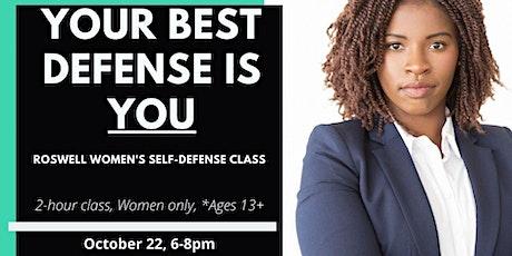 S.A.F.E. Womens Self Defense Class tickets