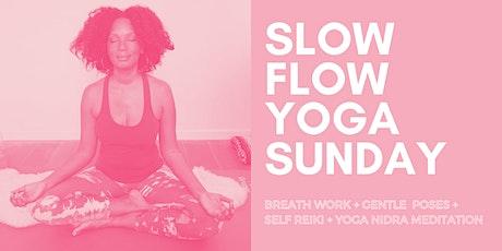 Slow Flow Yoga Sunday tickets