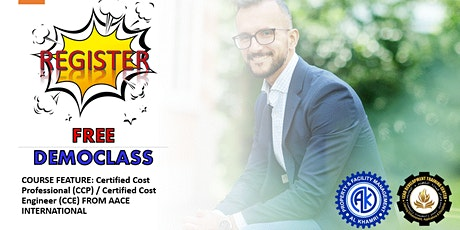 FREE Certified Cost Professional (CPP) Course Webinar (DEMO CLASS) tickets