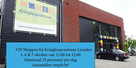 VIP Shoppen bij Kringloopcentrum Leusden tickets