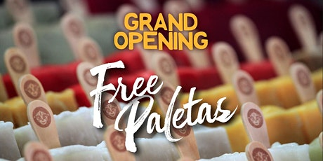 FREE Paletas (Ice Cream) - Coconut Grove Store Grand Opening - Morelia tickets