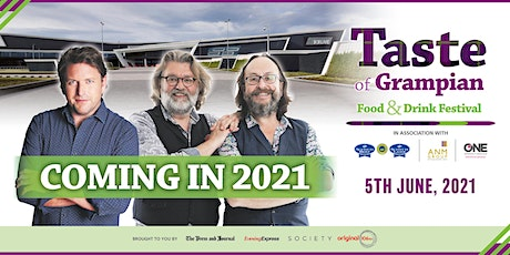Taste of Grampian 2021 tickets