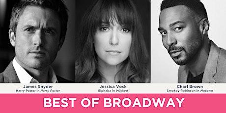 Best of Broadway Concert tickets