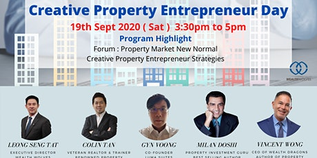 Creative Property Entrepreneur Day tickets