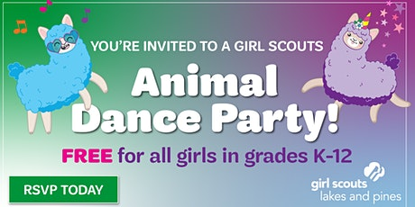 Animal Dance Party: Girl Scout Sign-up (Baxter) tickets