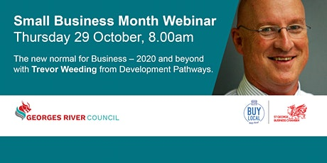 The New Norm for Business by Trevor Weeding from Development Pathways tickets
