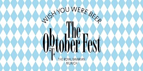 The OBTOBERFEST  @ Boilerman Bar im The Royal Bavarian zum After Work Tickets