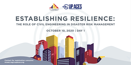 Establishing ResilienCE: The Role of CE in Disaster Risk Management tickets