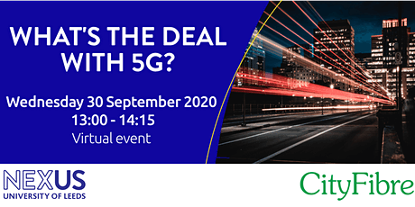 What's the deal with 5G? tickets