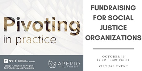 Pivoting in Practice - Fundraising for Social Justice Organizations tickets