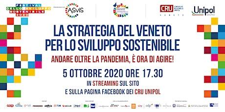 La strategia del Veneto per lo sviluppo sostenibile biglietti