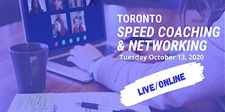 Toronto Speed Coaching & Networking tickets
