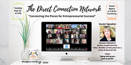 The Direct Connection Network Zoom Meeting With Helena Trangata tickets