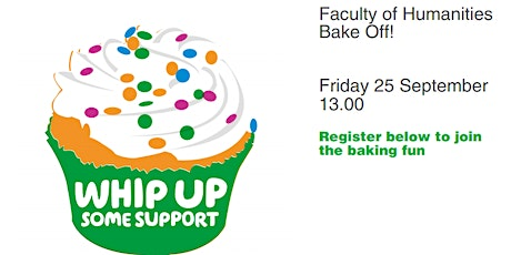 Faculty of Humanities Macmillan Bake Off - Postponed till Nov tickets