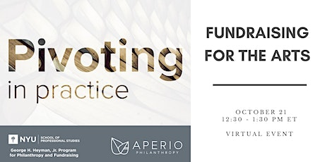 Pivoting in Practice: Fundraising for the Arts tickets