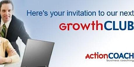 """GrowthCLUB"" 90-Day Planning Workshop December 2020 tickets"