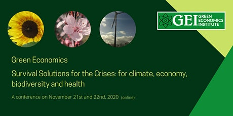 Survival Solutions: climate, biodiversity, economy and health (2 days) tickets