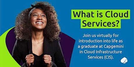 What is Cloud Services? #Gradathon tickets