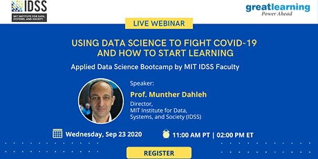 [Webinar] Applied Data Science Bootcamp by MIT IDSS Faculty -Program Launch tickets
