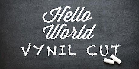 Maker Faire Torino | Hello World: Vinylcut - realizza il tuo adesivo! biglietti