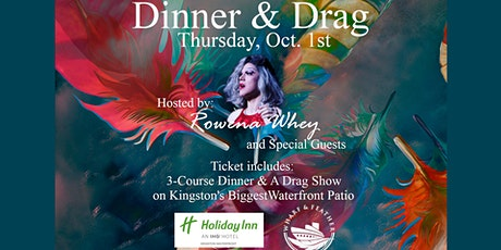 Drag Dinner - Wharf & Feather tickets