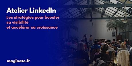 Atelier LinkedIn - Visioconférence billets