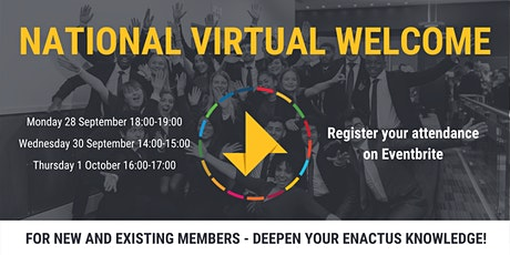 National Virtual Welcome Event tickets