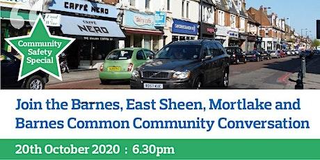 Barnes / East Sheen / Mortlake/Barnes Common Virtual Community Conversation tickets