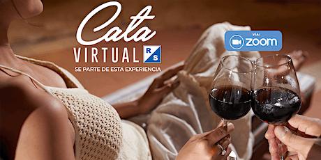 1era #CataVirtualRS y Maridaje con vinos BROWN entradas
