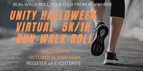 Unity Halloween Virtual 5K/1K Run/Walk/Roll tickets
