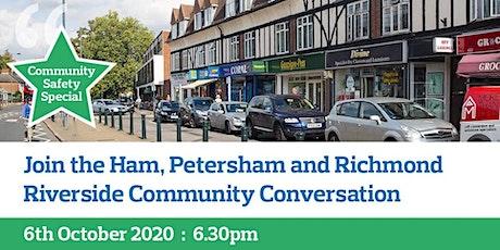 Ham / Petersham / Richmond Riverside Virtual Community Conversation tickets